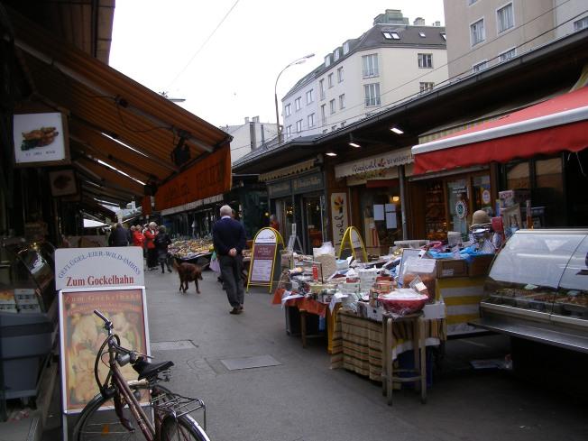 Vienna Austria Naschmarkt