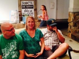 Colter Vest, Cecily & Brandon Humble