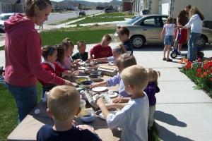 Grandma Keri Easter Egg Coloring Day 2004