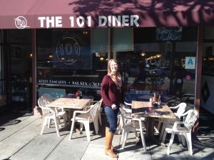 Keri @ The 101 Diner Encinitas, CA 2015