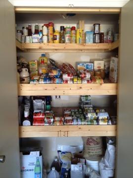 Insulated Food Storage Closet -