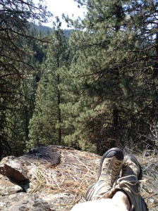 Lunch Break ... cool views
