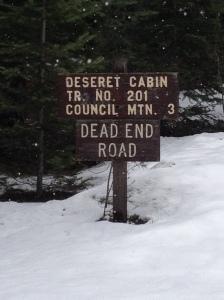 Deseret Cabin Trail No. 201 Council Mtn