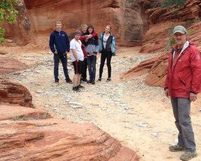 Yeah! A redrock slot canyon