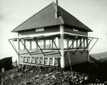 Original Council Mountain Fire Lookout (1923)