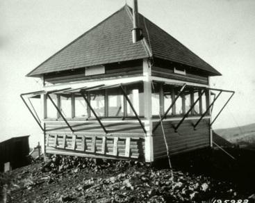 Original Council Mountain Fire Lookout (1923)