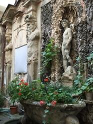 A hidden roman garden