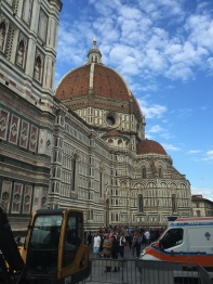 The Duomo and Baptistry