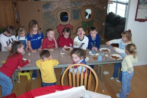 Gingerbread Day 2003