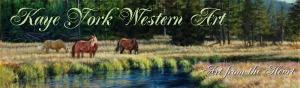 Kaye York Western Art