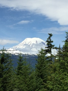 Mount Rainer in the sunshine