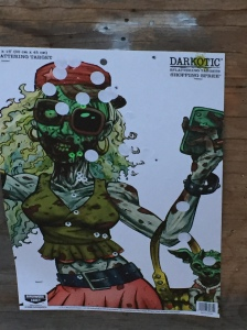Splash targets ... ooze green when you get a head shot ... only place to kill a zombie, don't 'cha know?