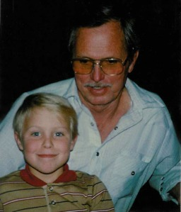 Steve with his Grandpa Keith
